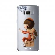 Coquette funda Samsung GalaxyS8 Selfie transparente