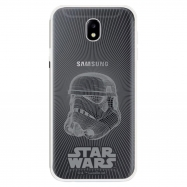 Disney funda Samsung Galaxy J7 2017 Star Wars Stormtrooper transparente