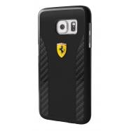 Ferrari carcasa Samsung Galaxy S7 Daytona fibra carbono negra