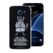 Kukuxumusu funda Samsung Galaxy S7 gris