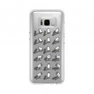 Kukuxumusu funda Samsung Galaxy S8 Plus Mironas transparente