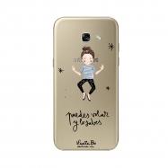 Lucía Be funda Samsung GalaxyA5 2017 Puedes Volar transparente