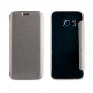 muvit funda Folio Samsung Galaxy S7 Edge plata