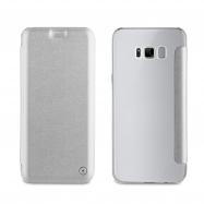 muvit funda Folio Samsung Galaxy S8 Plus plata