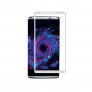 muvit protector pantalla Samsung Galaxy S8 vidrio templado curvo marco plata