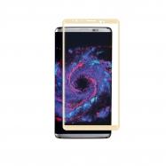 muvit protector pantalla Samsung Galaxy S8 Plus vidrio templado curvo marco dorado