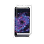 muvit protector pantalla Samsung Galaxy S8 Plus vidrio templado curvo marco plata