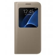 Samsung funda S View Samsung Galaxy S7 oro