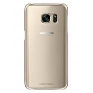 Samsung carcasa Clear SamsungGalaxy S7 oro