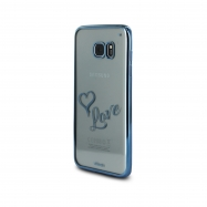 Words funda Samsung Galaxy S7Edge Love transparente