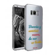 Words funda Samsung Galaxy S8Borrón transparente
