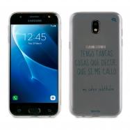 Words funda Samsung Galaxy J52017 Subtítulos transparente