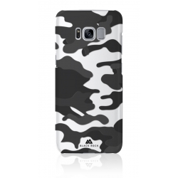 Black Rock carcasa Samsung Galaxy S8 Camuflaje negra translúcida