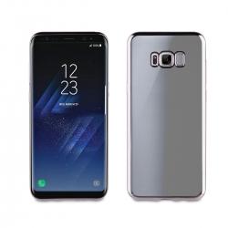 muvit Life funda Samsung Galaxy S8 Bling transparente marco negro