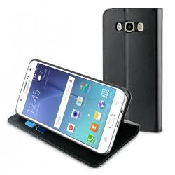 muvit funda Folio Samsung J7 2016 función soporte + tarjetero negra