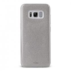 Puro funda Shine Samsung Galaxy S8 Plus plata