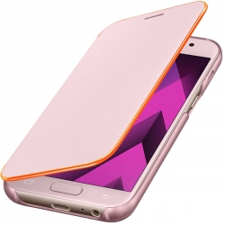 Samsung funda Neon Flip Samsung Galaxy A3 2017 rosa