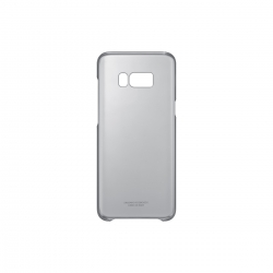 Samsung carcasa Clear Samsung Galaxy S8 Plus negra