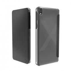 Made for Xperia funda Folio Sony Xperia XZ + tarjetero negra
