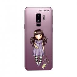 Gorjuss funda Samsung Galaxy S9 Plus Catch a Falling Star transparente