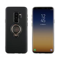 muvit carcasa ring magnetica Samsung Galaxy S9 Plus negra