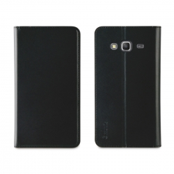 muvit funda Wallet Folio Samsung Galaxy J3 2016 función soporte negra