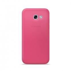 Puro funda Nude 0.3 Samsung Galaxy A5 2017 fluo rosa