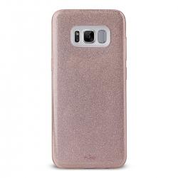 Puro funda Shine Samsung Galaxy S8 Plus oro rosa