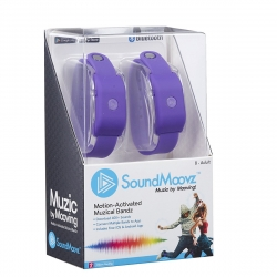 SoundMoovz Muzic by dancing! Pulsera musical interactiva lila