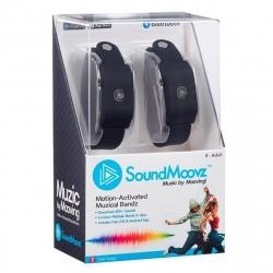 SoundMoovz Muzic by dancing! Pulsera musical interactiva negra