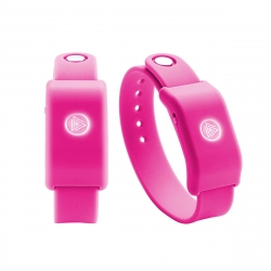 SoundMoovz Muzic by dancing! Pulsera musical interactiva rosa