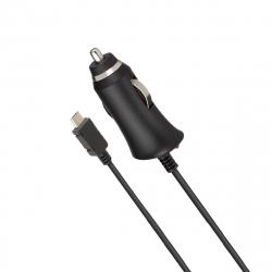Myway cargador coche Micro USB 2,1A negro