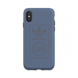 Adidas carcasa Apple iPhone XS/X Shockproof Techink azul