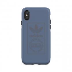 Adidas carcasa Apple iPhone XS/X Shockproof Techink azul