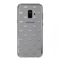 Adidas carcasa Samsung Galaxy S9 Clear Snap plata