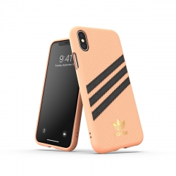 Adidas carcasa 3 rayas Samba Apple iPhone Xs/X rosa