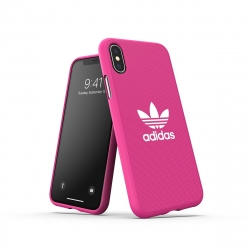 Adidas carcasa Adicolor Apple iPhone Xs/X rosa