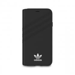 Adidas funda Apple iPhone XS/X Booklet negra/blanca