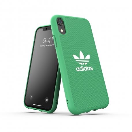 Adidas carcasa Adicolor Apple iPhone XR verde