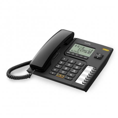 Alcatel teléfono CORDED T76 negro