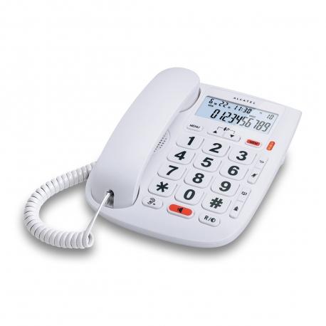 Alcatel teléfono CORDED TMax20 blanco