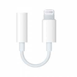 Apple adaptador Lightning a jack 3,5mm para auricular Apple