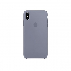Apple carcasa silicona Apple iPhone Xs Max Gris