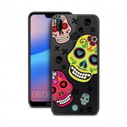 Asi funda TPU Huawei P20 Lite 2017 Skull