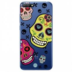Asi funda TPU Huawei Y6 2018 Skull