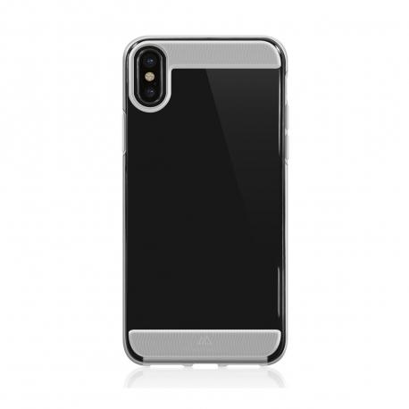 Black Rock carcasa Apple iPhone XS/X Air transparente