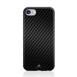Black Rock carcasa Apple iPhone 8/7/6S/6 Flex Carbon negra