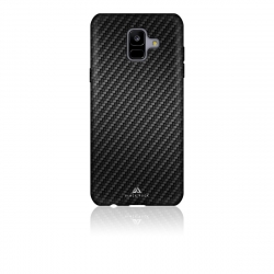 Black Rock carcasa Samsung Galaxy A6 2018 Flex Carbon negra