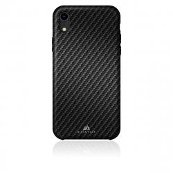 Black Rock carcasa Apple iPhone XR Flex Carbon negra