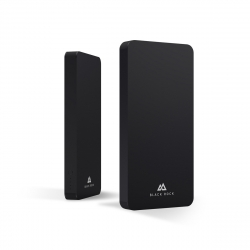 Black Rock power bank 8000 mAh USB 2 puertos 2.1A negro